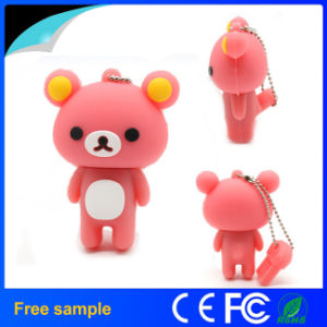 OEM Cartoon Bear PVC USB Flash Memory Driver pictures & photos