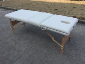 Hot Massage Table with Backrest in EU and USA Mt-009 pictures & photos