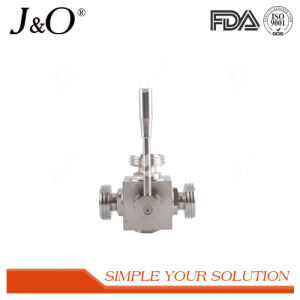 Food Grade Sanitary 3 Way Male Ball Valve pictures & photos