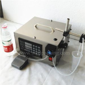 High Accuracy Peristaltic Pump Filling Machine 80ml/Min