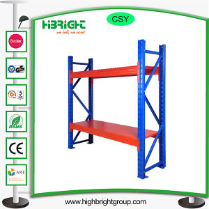 Beam Warehouse Pallet Rack with Steel Panel pictures & photos
