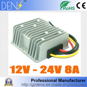 DC DC Converter Step up Boost Module 12V to 24V 8AMP Car Power Converters Waterproof pictures & photos
