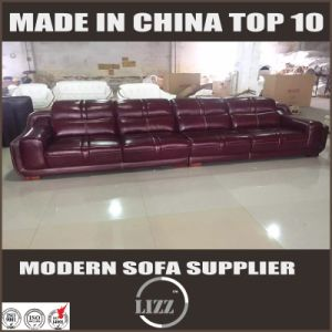 Corner Leather Sofa Specific Use Living Room Sofa pictures & photos