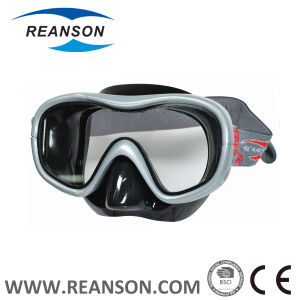 Fashion Silicone Tempered Glass China Diving Mask pictures & photos