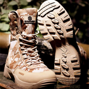 Rubber S Oxford Ole Tactical Gears Desert Water-Proof Military Tactical Outdoor Camping Travel Leather Strong Rubber Sole Boot pictures & photos