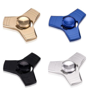 Hot Selling Three - Leaf Fingertips Gyro Decompression Rotating Hand Spinner Fidget Toy pictures & photos