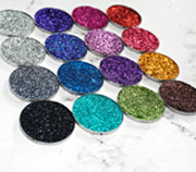 Professional Metallic Colors Eyeshadow Pressed Glitter No Glue Glitter
