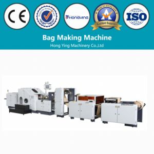 Paper Bag Machine with Window in Line pictures & photos