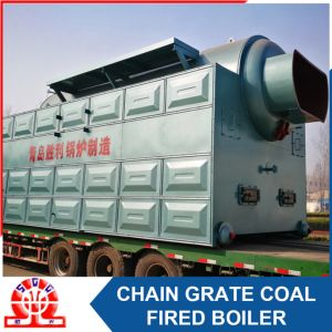 Horizontal Fire and Water Tube Coal Fired Steam Boiler pictures & photos