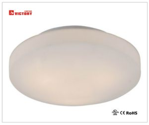 Waterproof Modern Round LED Glass Simple Ceiling Light with Ce Rhos pictures & photos
