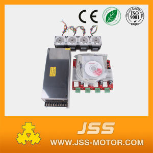 3 Axis CNC Kit 179oz. in NEMA 23 Stepper Motor and Tb6560 Driver for CNC Router Mill pictures & photos