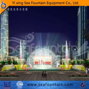Movie Fountain Laser Fountain Large Outdoor Fountain pictures & photos