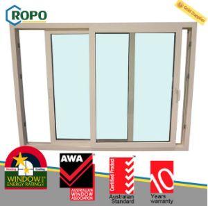 UPVC Double Glazing Glass Sliding Window pictures & photos
