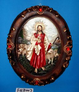 Antique Religious Wall Plaque for Christmas Decoration pictures & photos