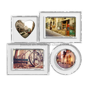 Multi Openning Home Decoration Collage Heart Photo Frame pictures & photos
