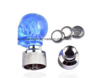 Skull Flashing LED Valve Cap Light Bulb Wheel Tyre Lamp pictures & photos