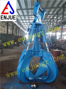 Hydraulic Orangel Peel Excavator Grab Bucket for Lifting pictures & photos