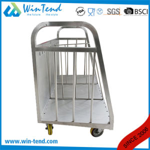 Hot Sale Stainless Steel Transport Plate Trolley Divider with Wheels pictures & photos