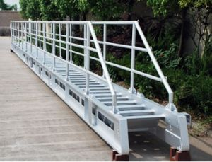 8m Long 0.6m Width 500kg Load Marine Gangway Ladder pictures & photos