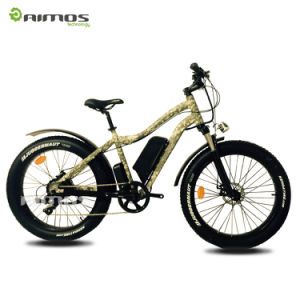 8V 500W Fat Tyres Beach Cruiser Electric Bike pictures & photos