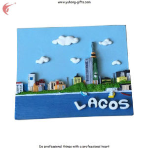 2016 New Scenery Lagos Resin Fridge Magnets for Promotion (YH-FM094) pictures & photos
