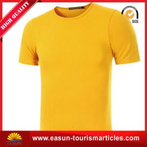 Custom Logo Long Sleeve Soccer Plain T Shirt pictures & photos