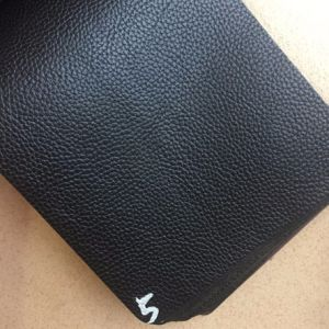 Synthetic Stocklot PVC Leather for Handbags Totes Clutches Hx-B1761 pictures & photos