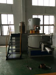 SGS Automatic Rotating Paint Mixer Machine for Dry Powder Mixing pictures & photos