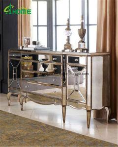 Antique Big Storage Cabinet Mirrored Furniture pictures & photos