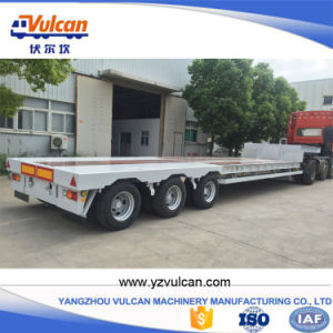 3 Axle Air Suspension Extendable Low Bed Tractor Truck Trailer