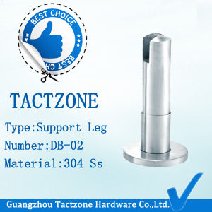 Precision Casting Ss Toilet Partition Fittings Adjustable Support Leg pictures & photos
