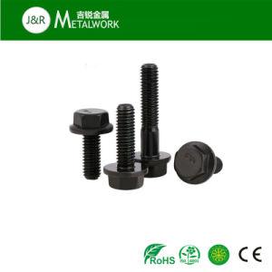 Carbon Steel Galvanzied Zinc Plated DIN6921 Hex Flange Bolt pictures & photos