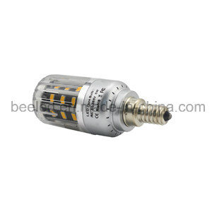 LED Corn Light E12 5W Warm White Silver Color Body LED Bulb Lamp pictures & photos