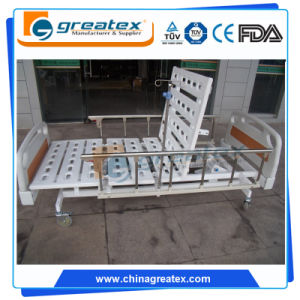 Medical Equipment 3 Function Electric Tilting Hospital Bed (GT-BE1004) pictures & photos