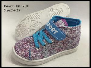 Latest Design Children Canvas Shoes Leisure Shoes (HH411-19) pictures & photos