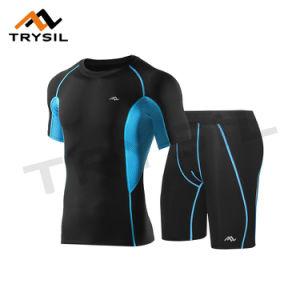 Summer Men Sport Suit T Shirt Shorts for Sport pictures & photos