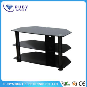 Super Economy Stylish Glass Table and Wood TV Stand pictures & photos