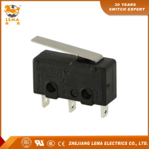 Kw12-1 Sub-Mini 5A Button-Actuated Miniature Snap-Action Micro Switch pictures & photos