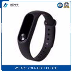 Heart Rate Blood Pressure Monitoring Wristband Hand Ring Movement Step Smart Bluetooth Bracelet pictures & photos