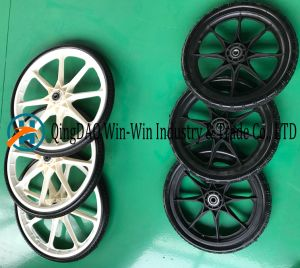 Flat-Free PU Wheel with Colorful Rim (20*1.75) pictures & photos