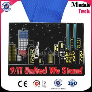 New Fashion Metal 911 Souvenir City Marathon Night Running Medals pictures & photos