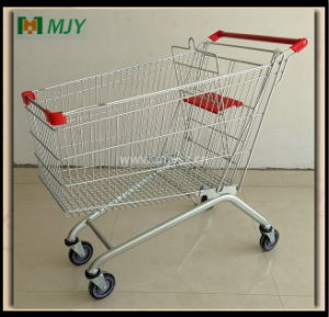 150 Liters Metal Hand Trolley Mjy-150b-TPR pictures & photos