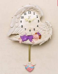 Resin Home and Garden Decor Hang Clock for Gift pictures & photos