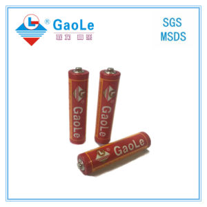 Chinese Battery Manufacture Um4 AAA Primary Battery (red-3PCS pack) pictures & photos