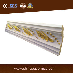 Gold Color PU Cornice pictures & photos