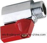 Chromed Polishing Female/Male Thread Mini Brass Ball Valve pictures & photos