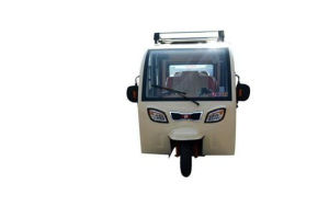 New and Comfortble Closed Body Electric Tricycle with Passenger Seat pictures & photos