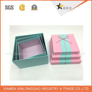 Customzied Printed Pillow Packaging Box with Handle pictures & photos