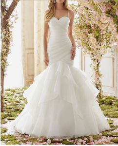 2017 Ball Gown Prom Bridal Wedding Dresses Ctd6833 pictures & photos