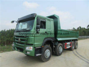 Sinotruk HOWO A7 371HP 8X4 Tipper Dump Truck in Stock pictures & photos